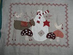 Scandinavian Christmas block 2