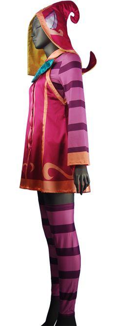 LOL League of Legends Lulu cosplay costume Halloween costume xmas ...