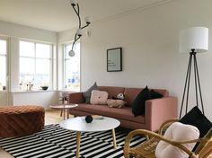 Johan Sunday dusty rose Furniture, Sofa, Kids Rugs, Table, Home Decor, Kotatsu Table, Dusty Rose Color, Colorful Furniture, 3 Seater Sofa