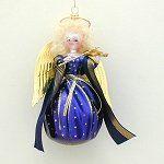Soffieria De Carlini Italian Blown Glass Ornaments Blown Glass Christmas Ornaments, Christmas Angels, Blue Angels, All Brands, Violin, Branding Design, Artist, Collection, Beautiful