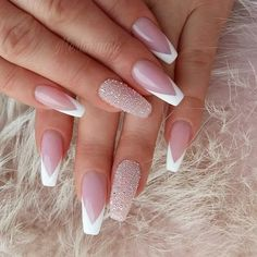 50 Pretty Nail Art Design Easy 2019 You Can Try As A Beginner - Nail Pretty Nail Design Easy 2019 - Fashion & Glamour Trends 2019 - Katty Glamour Pretty Nail Designs, Pretty Nail Art, Simple Nail Designs, Best Acrylic Nails, Acrylic Nail Designs, Nail Art Designs, Nails Design, French Acrylic Nails, French Nail Designs
