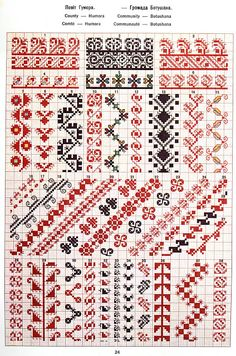 FolkCostume&Embroidery: May 2016 Russian Cross Stitch, Cross Stitch Love, Beaded Cross Stitch, Cross Stitch Borders, Cross Stitch Designs, Cross Stitch Patterns, Chain Stitch, Folk Embroidery, Cross Stitch Embroidery