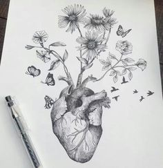 Surreal drawing by Alfred Basha