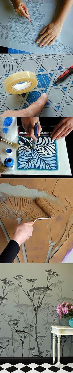 Really amazing stenciling