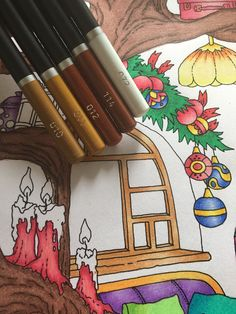 Colouring Techniques, Colour Combinations, Color Pallets, Colored Pencils, Art Supplies, Coloring Pages, Castle, Palette, Tutorials