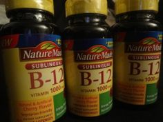 Nature Made B12 Vitamins 1000mcg 150 Micro Lozenges Energy Nervous System | eBay