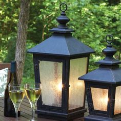 I pinned this Large Orleans Lantern from the Napa Home & Garden event at Joss and Main!