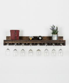 Look at this Floating Wine Glass Holder on #zulily today!