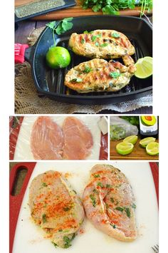 Easy Paleo Chicken Recipes - Cilantro Lime Chicken - Healthy Dinner Recipes on a Budget - Click for Recipe