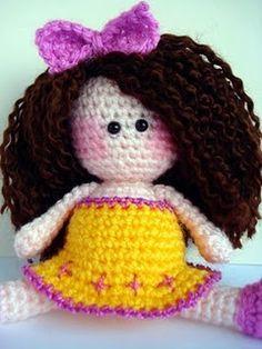 amigurumi   #amigurumi #crochet #girl #toy #doll #cute #kawaii #crocheted #plush #children #kid #gift @allsocute