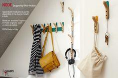 NODE: collezione di #appendiabiti da parete dallo #stile #moderno e #minimal, un'idea del #designer Oliver Hrubiak. 100% Made in Italy. Scoprili su http://www.chairsoutlet.com