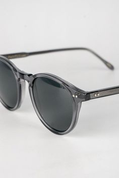 Crystal Grey Sunglasses - handcrafted @ Weathered Coalition