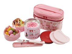 Amazon.com: Bento: Kiki Delivery Service Thermal Lunch Box Set (Food Containers, Fork and Bag): Childrens Lunch Boxes: Kitchen & Dining