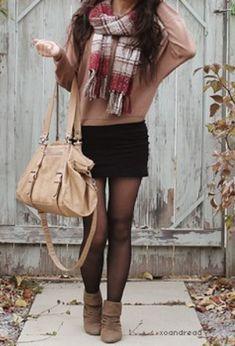 Este otoño saca partido a los tonos tierra para #tú #outfits