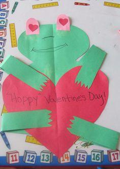 Valentine's Day Craft: Hoppy Valentine's Day Frog