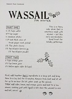 Do some traditional boozy witchcraft with wassail
