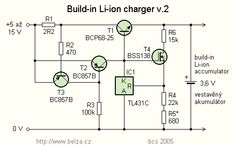 Build-in Li-ion accu charger