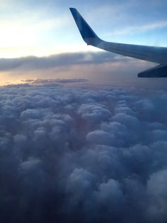 Floating on the clouds