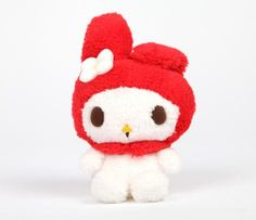 "My Melody 8"" Plush: Red Love"