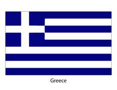 Printable World Flags - Greece    #Flags #Printables #Greece