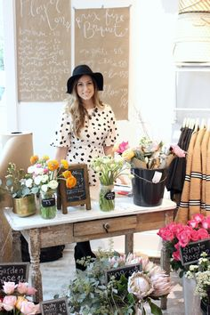 Pop-Up Flower Shop by Zoë with Love