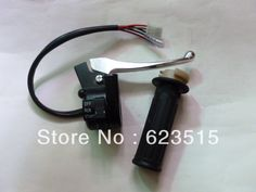 OEM PW PY50 Right Throttle Housing Switch with Lever and grip FOR PW50 GT50 PEEWEE LONCIN & JIANSHE PY50