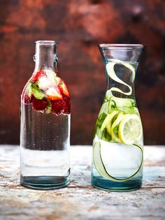 Easy Flavoured Water | Fruit Recipes | Jamie Oliver Recipes