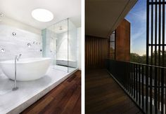 :: BATHROOMS :: great spa room design by East Windsor Residence by Alterstudio Architects #bathrooms #interiors