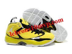 Air Jordan 2012 Basketball Shoes Yellow/Black