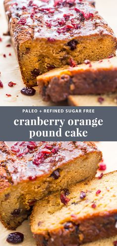 This paleo cranberry...