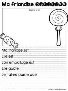 Literacy Games, Writing Activities, Teaching French Immersion, Communication Orale, High School French, French Teaching Resources, French Worksheets, French Education, Core French