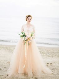 Ethereal Lakeside Inspiration Filled with Seashells - Style Me Pretty