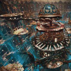 Home Discover Dark Fantasy Fantasy City Fantasy Places Sci Fi Fantasy Fantasy World Fantasy Art Landscapes Fantasy Landscape Fantasy Artwork Futuristic Art Fantasy City, Fantasy Places, Fantasy World, Fantasy Art Landscapes, Fantasy Landscape, Fantasy Concept Art, Fantasy Artwork, Arte Steampunk, Images Esthétiques
