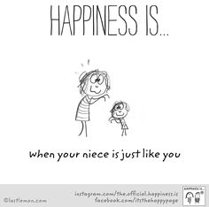 Niece Quotes From Aunt, Auntie Quotes, Happy Quotes, Positive Quotes, Funny Quotes, Qoutes, Life Quotes, Happy Moments, Happy Thoughts