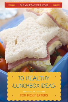 10 Healthy Lunchbox Ideas for Picky Eaters - #9 is delish!  http://mamateaches.com/10-healthy-lunchbox-ideas-picky-eaters/