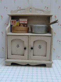 Schönes Altes Küchenregal Regal Küche Antik Holz Handtuchhalter