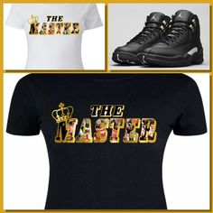 61a082521dcd LADIES   WOMENS TEE SHIRT to match the NIKE JORDAN XII 12 MASTERS! THE  MASTER MJ  COPEMCUSTOMS  GraphicTee