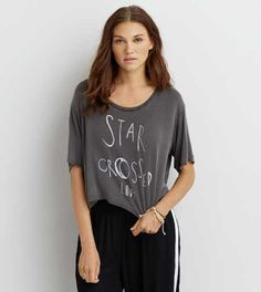 Don't Ask Why Boxy Cropped T-Shirt