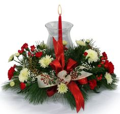 christmas flower designs | Creative Flower Shops And Their Latest Christmas Floral Designs via