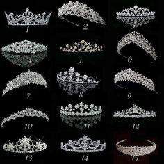 Ok… no secret that I wear a tiara just about every day that I deep clean. When… Ok… no secret that I wear a tiara just about every day that I deep clean. Royal Jewels, Crown Jewels, Cute Jewelry, Hair Jewelry, Jewellery, Tattoo Damen, Quince Dresses, Wedding Veils, Wedding Tiaras