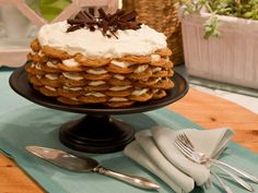Chocolate-Chip-Cookie Icebox Cake Recipe : Food Network - FoodNetwork.com