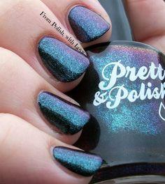 Pretty & Polished Cosmos and Effect #nailblogger #swatch #glitterpolish - bellashoot.com