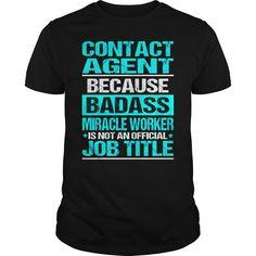 (Tshirt Sale) CONTACT AGENT BADASS [Tshirt Best Selling] Hoodies, Funny Tee Shirts