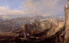 Entry of George IV into Edinburgh - Ewbank; A Capital View exhibition, spring 2014