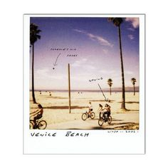 polaroid venice beach ❤ liked on Polyvore featuring polaroids, pics, backgrounds, photos, photograph and filler