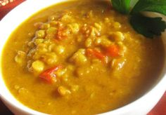 Potato Dal Serve as a side dish with rice, idli or dosa.