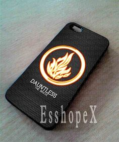 Divergent Dauntless The Brave For iphone 4/4s case by Esshopex, $13.00