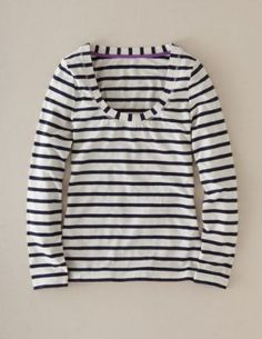 Something similar filled out my wardrobe for our Hamptons vacation.  I had this in both black stripes and yellow stripes.  Looked great with my white capris from Ann Taylor and my white Keds boat shoes...