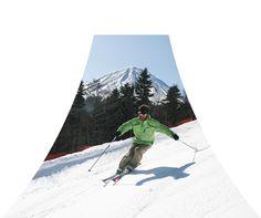 Fujiten - Sledding on Fuji 富士山のスキー場|スノボー|雪遊び|冬休みは「ふじてん」