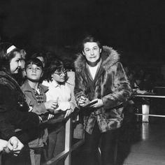 1964: Brian Wilson having fun signing autographs